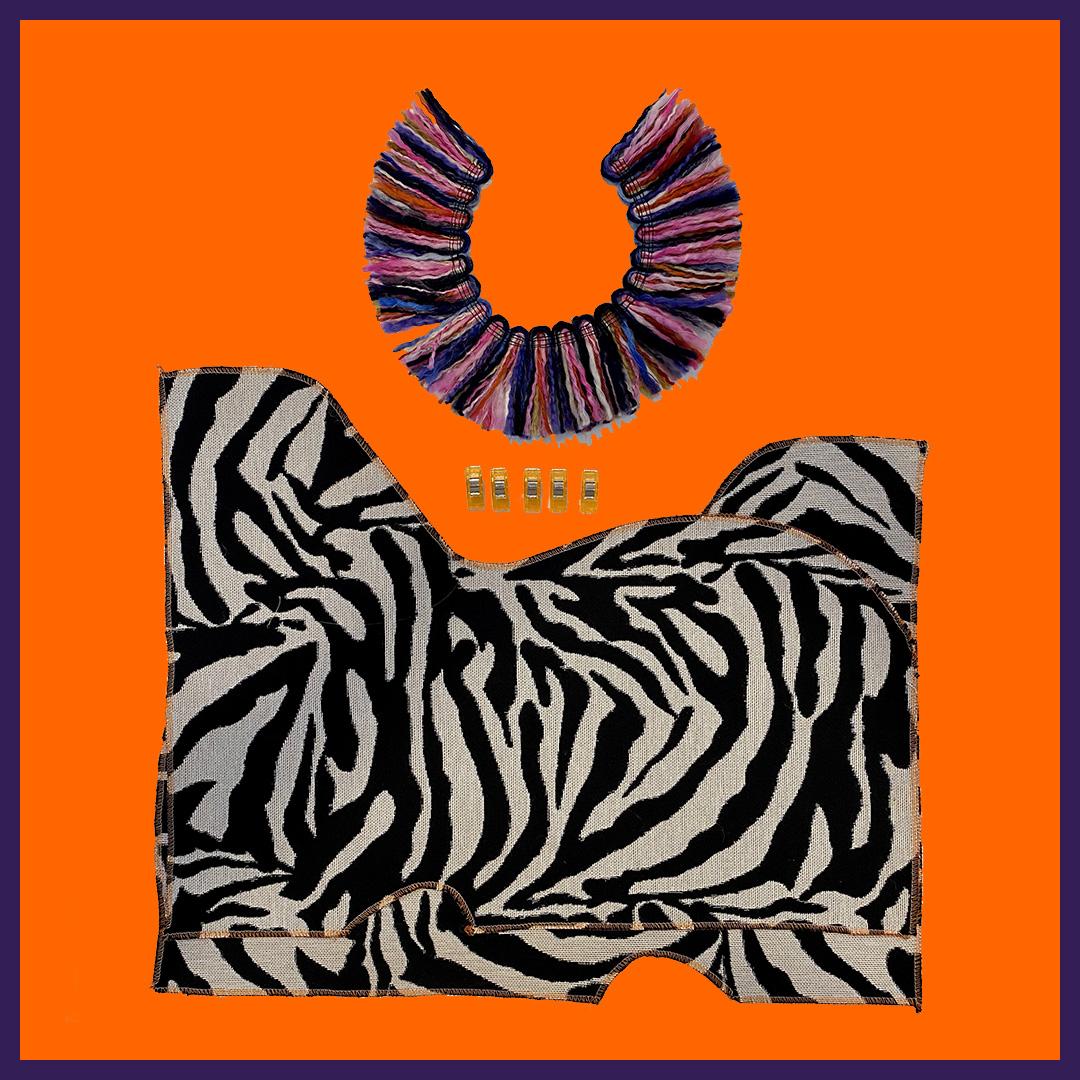 zebra kit neck cushion